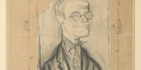 Ruskin Spear, 'Portrait of Carel Weight' (c.1935). Copyright Tullie House Museum and Art Gallery