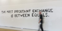 Tim Etchells TATE Modern London