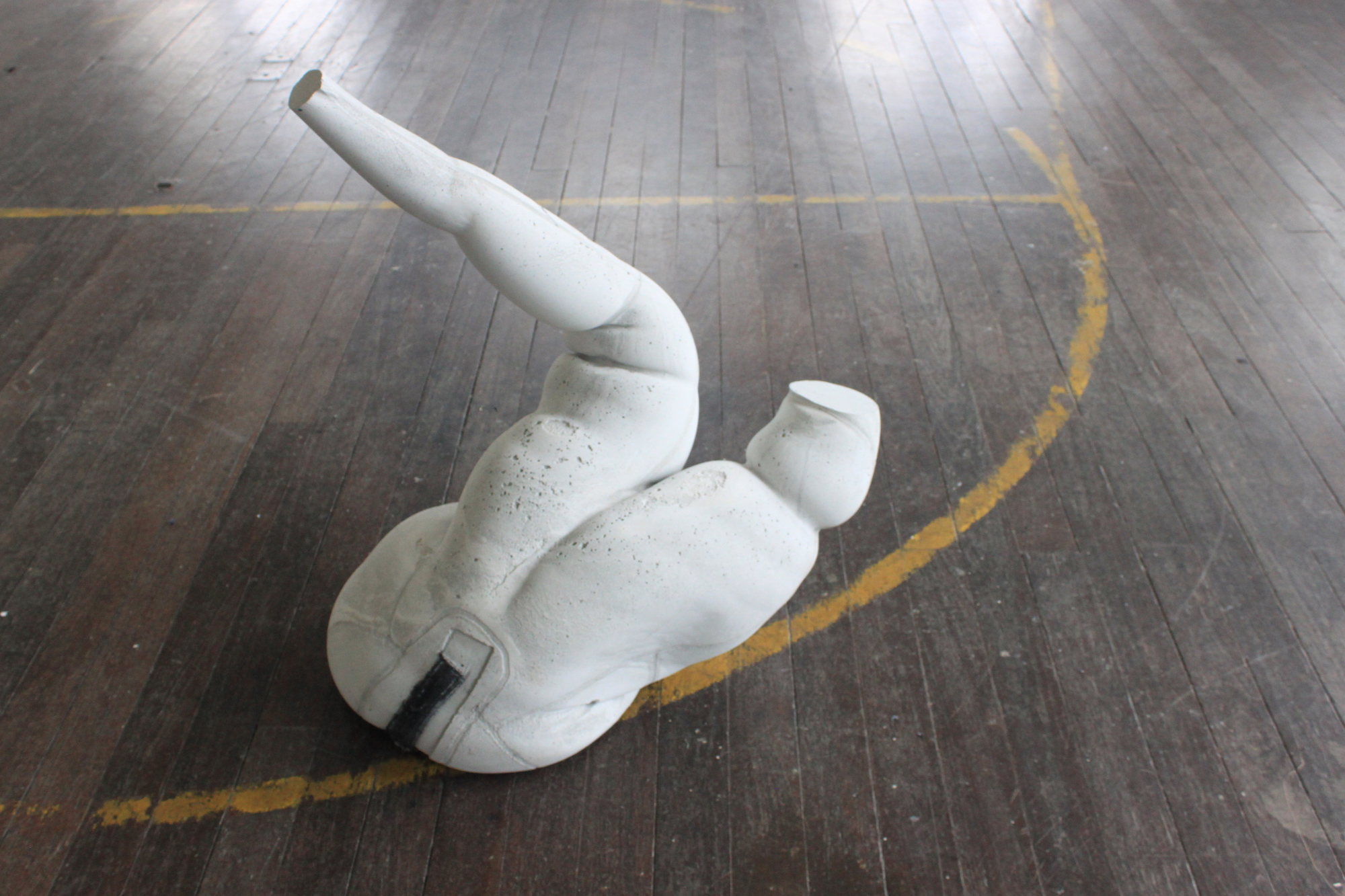 Tania Kovats Head Mouth Gymnasium Gallery Berwick upon Tweed Water