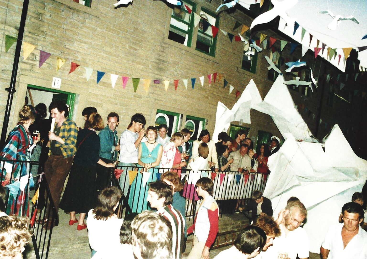 Archive image of arts activity at South Square, Bradford